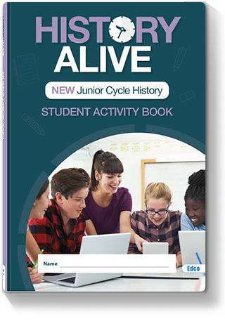 History Alive Activity Book Cover